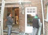 plaatsen ramen en deuren  hout _2